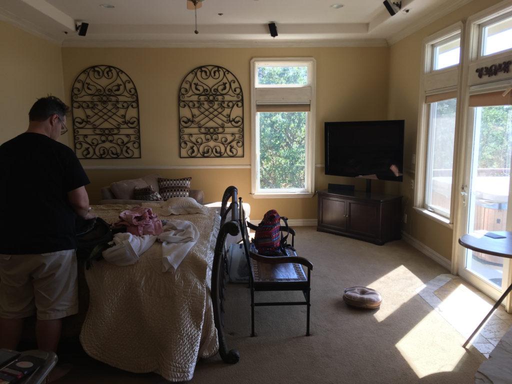 Grand Manor Suite at High Ridge Manor, bedroom, Paso Robles, California, Travel, B&B