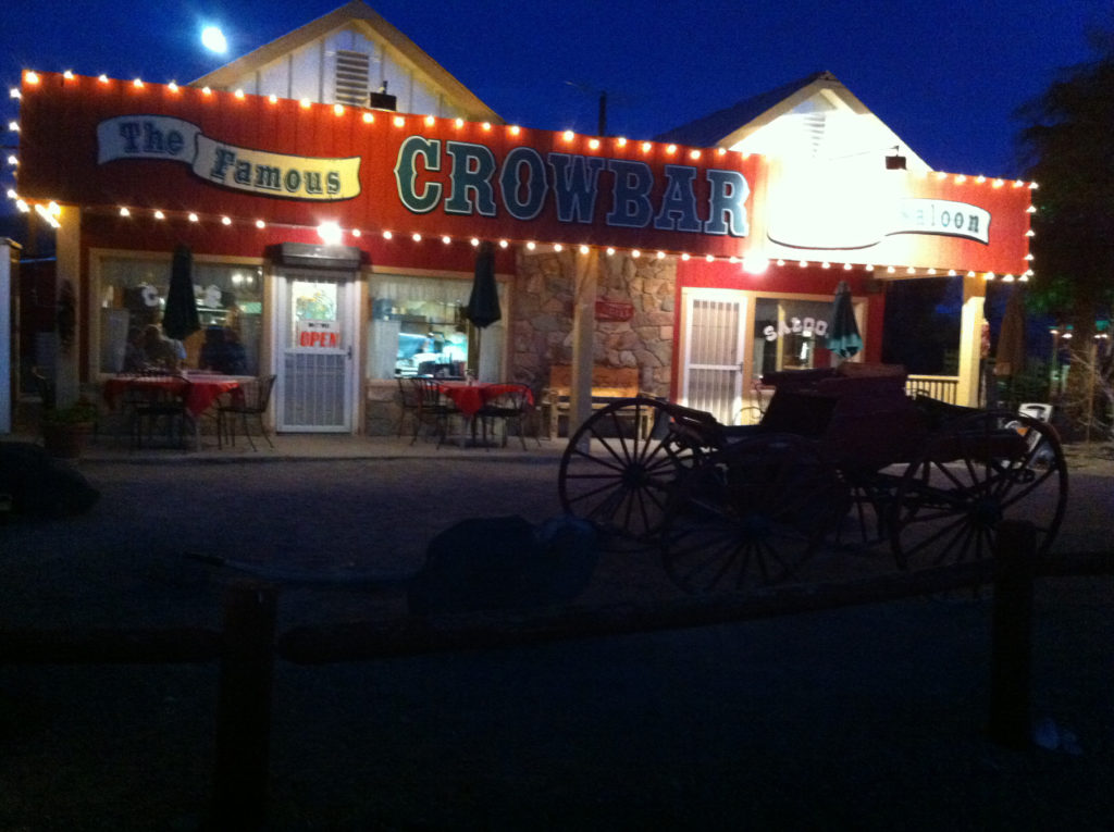 Crowbar Cafe, Shoshone, Tecopa Hot Springs, Those Someday Goals, Desert, California, Road Trips