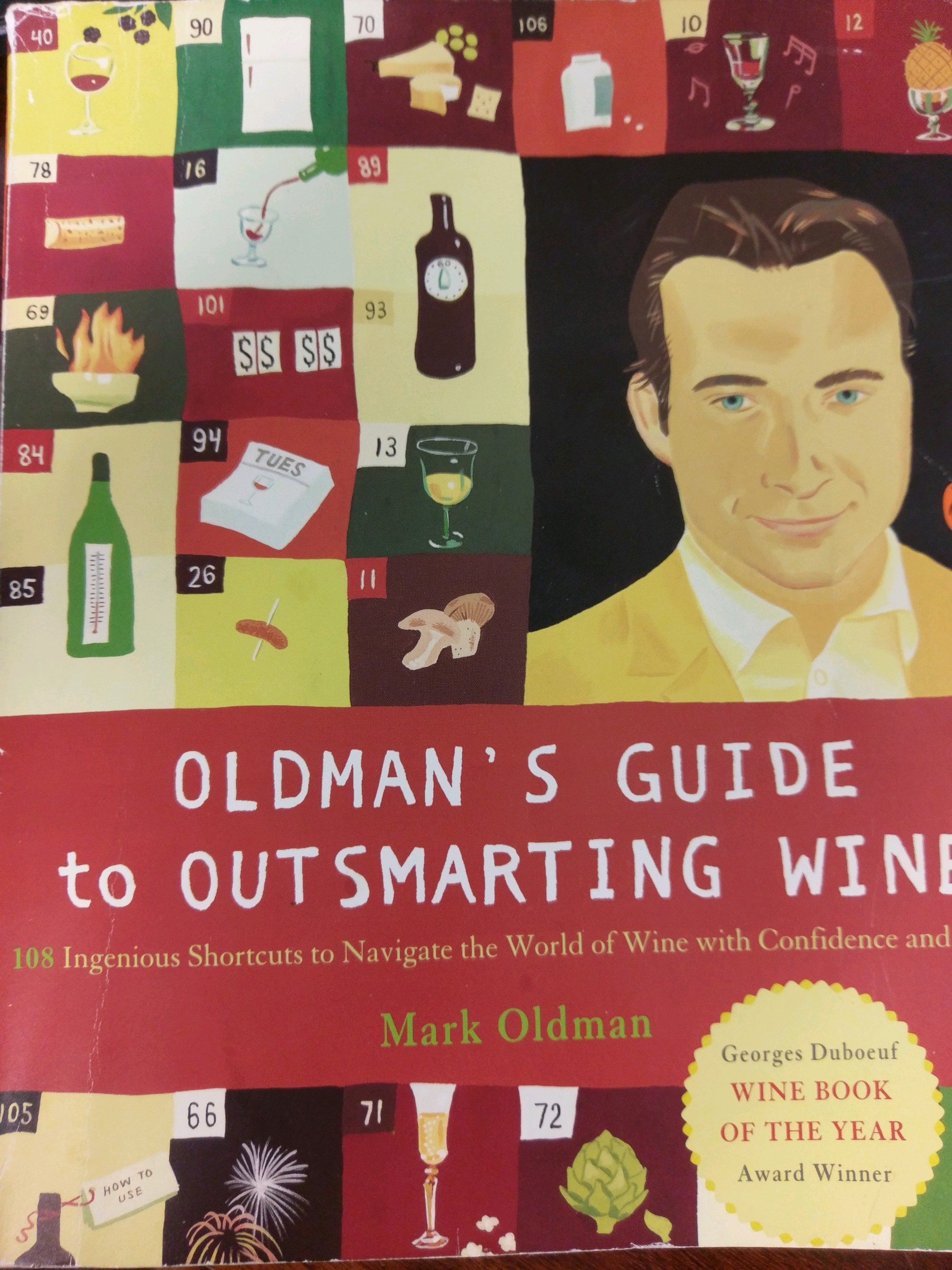 OldmansGuide, wine books
