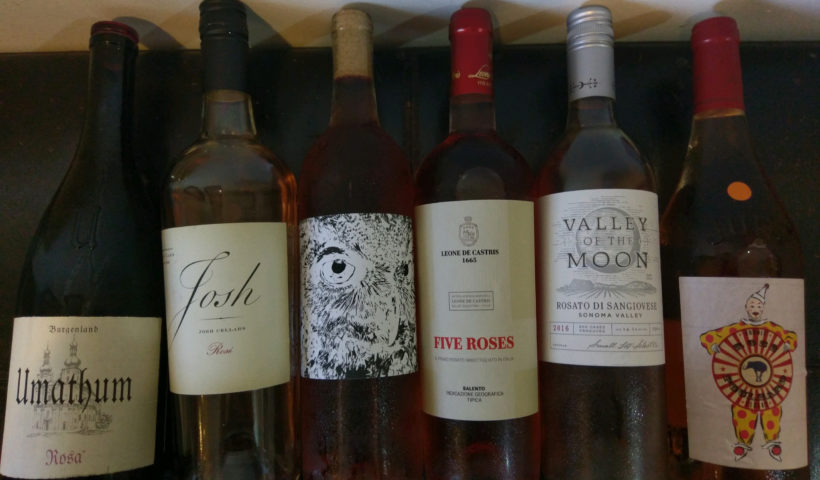 Rose wines, Summer of Rose, The Librarian and the Vine wine blog