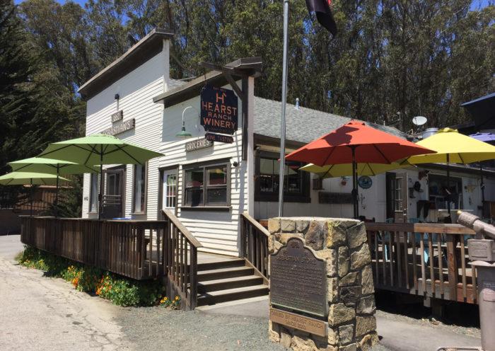 Sebastian's general store, restaurant, best hamburgers, San Simeon