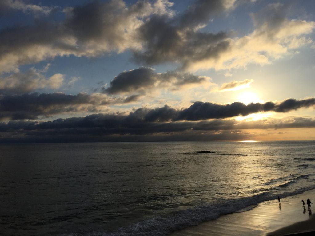 Sunset views in Laguna Beach