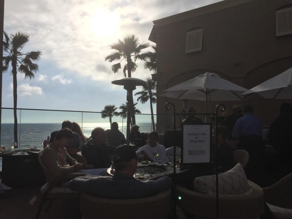 Laguna Beach Hotel Patio