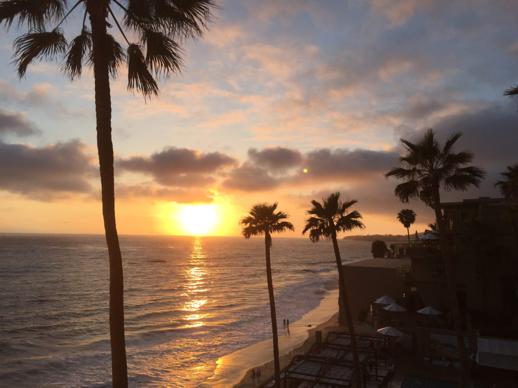 Laguna Beach, CA sunset views