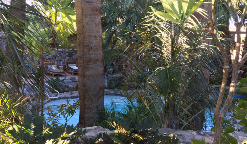 Two Bunch Palms, The Grotto, Desert Hot Springs, California