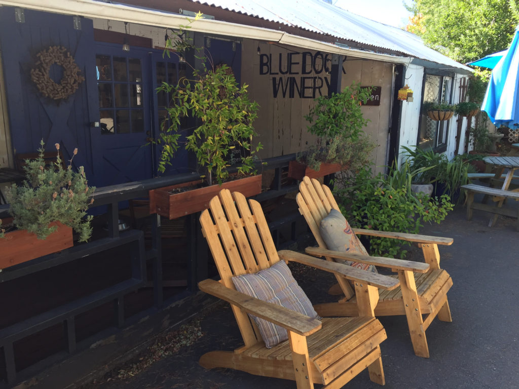 Blue Door Winery Julian California