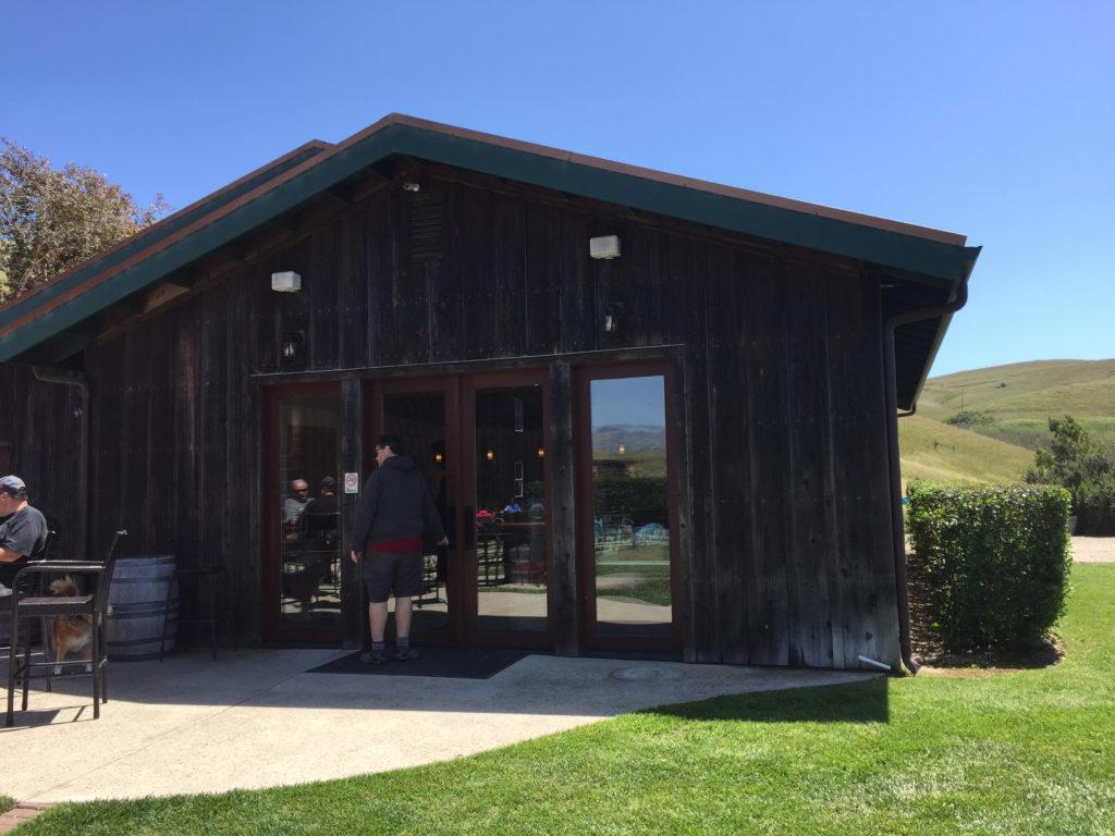 Harmony Cellars wine tasting Harmony California Near Cambria Population Under 200