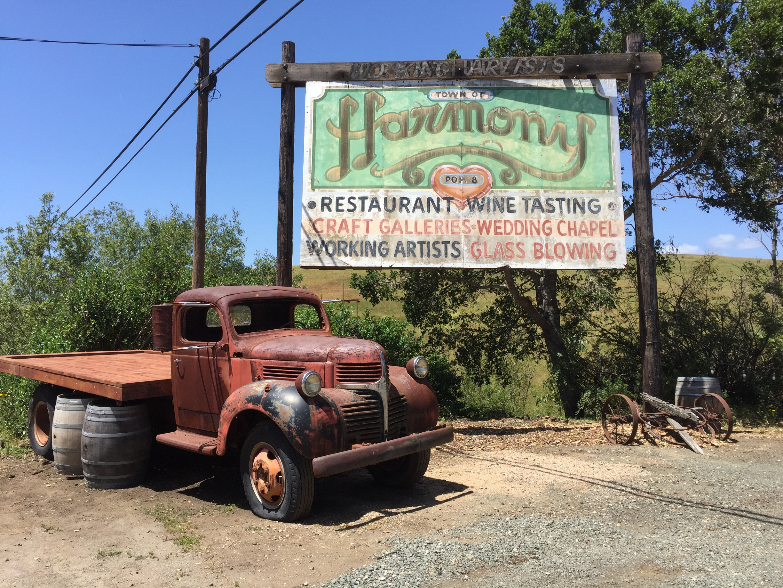 Harmony California Near Cambria Population Under 200