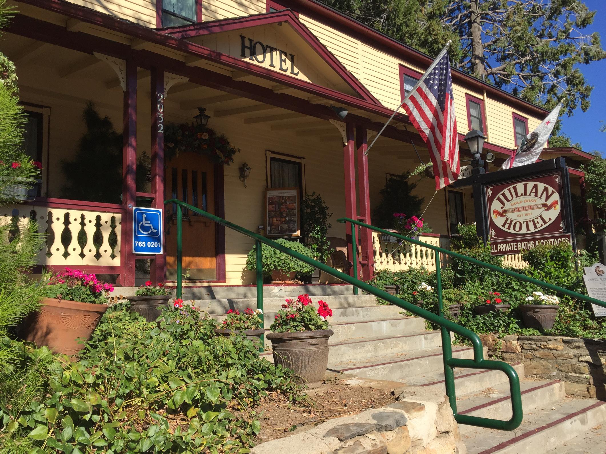 Julian Hotel San Diego California Historic Honeymoon House