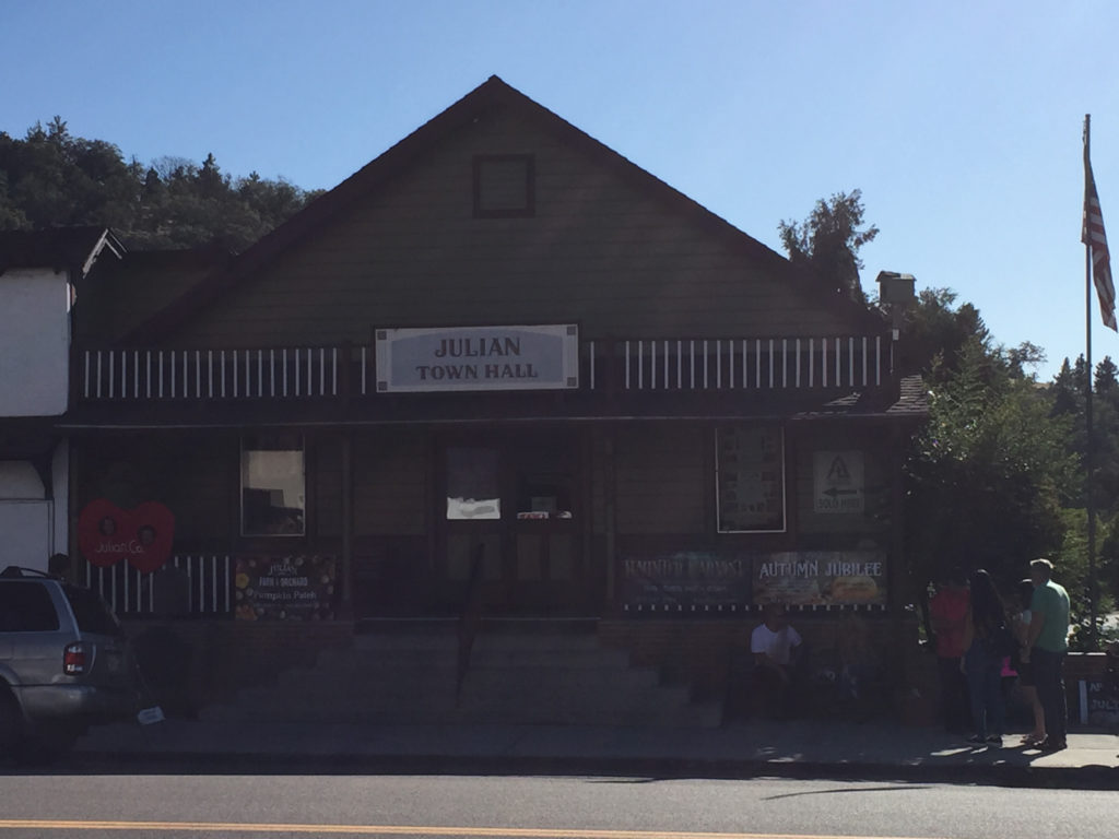 Julian, California Town Hall