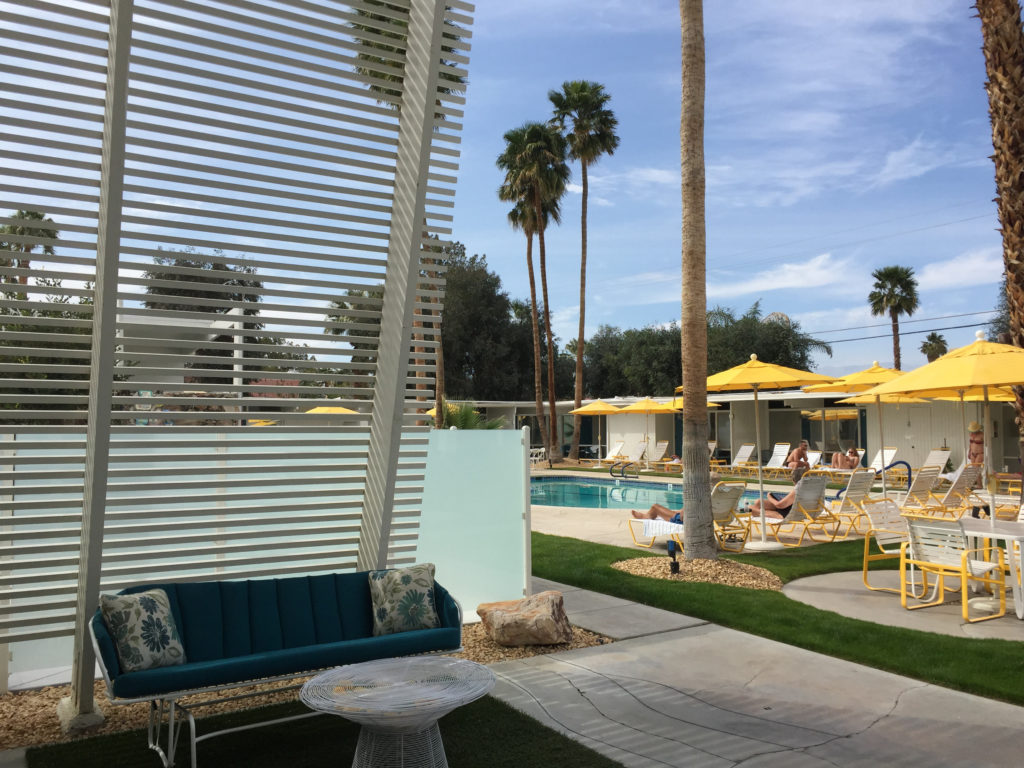 Monkey Tree Hotel, Palm Springs, Mid-Century Modern, California