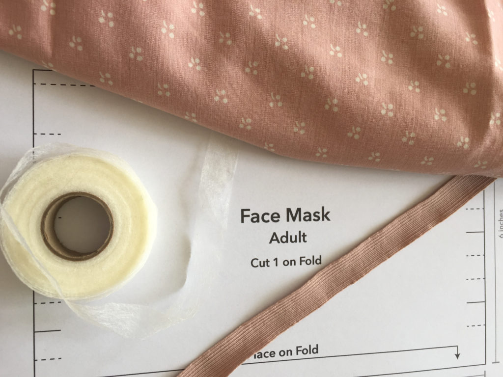 Those Someday Goals, Face Mask Pattern