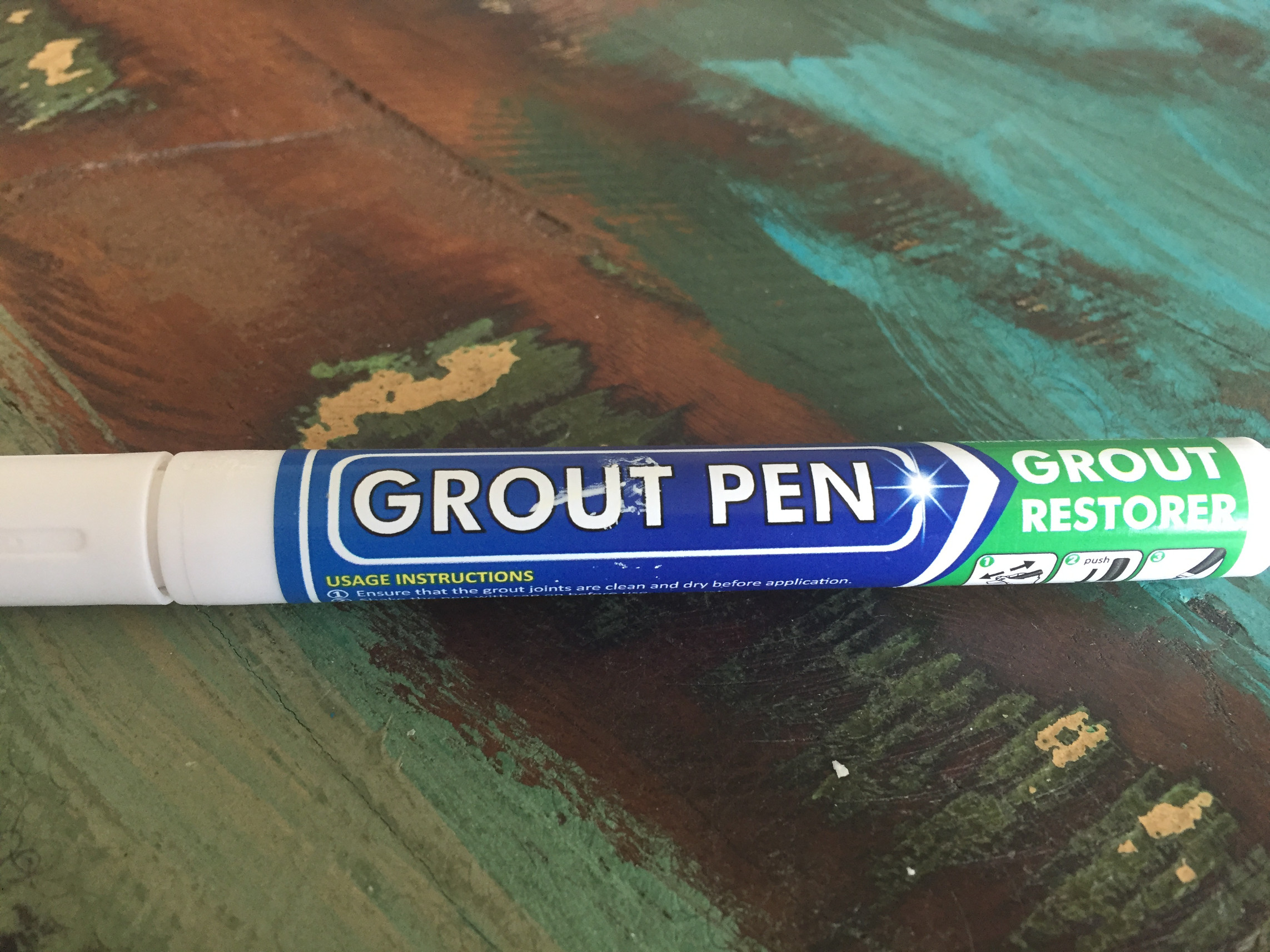 Eash and cheap grout fix, grout pen, coronavirus, home improvement
