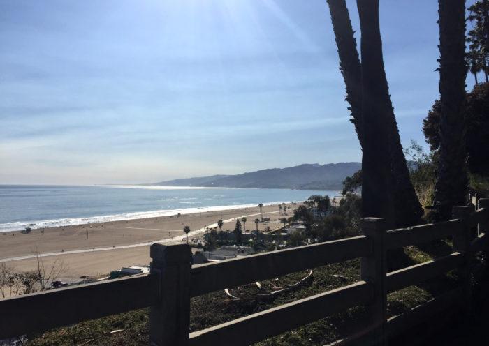 Ocean Palisades Park Santa Monica California Those Someday Goals