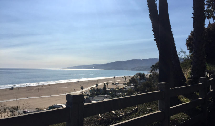 Ocean Palisades Park Santa Monica California Those Someday Goals