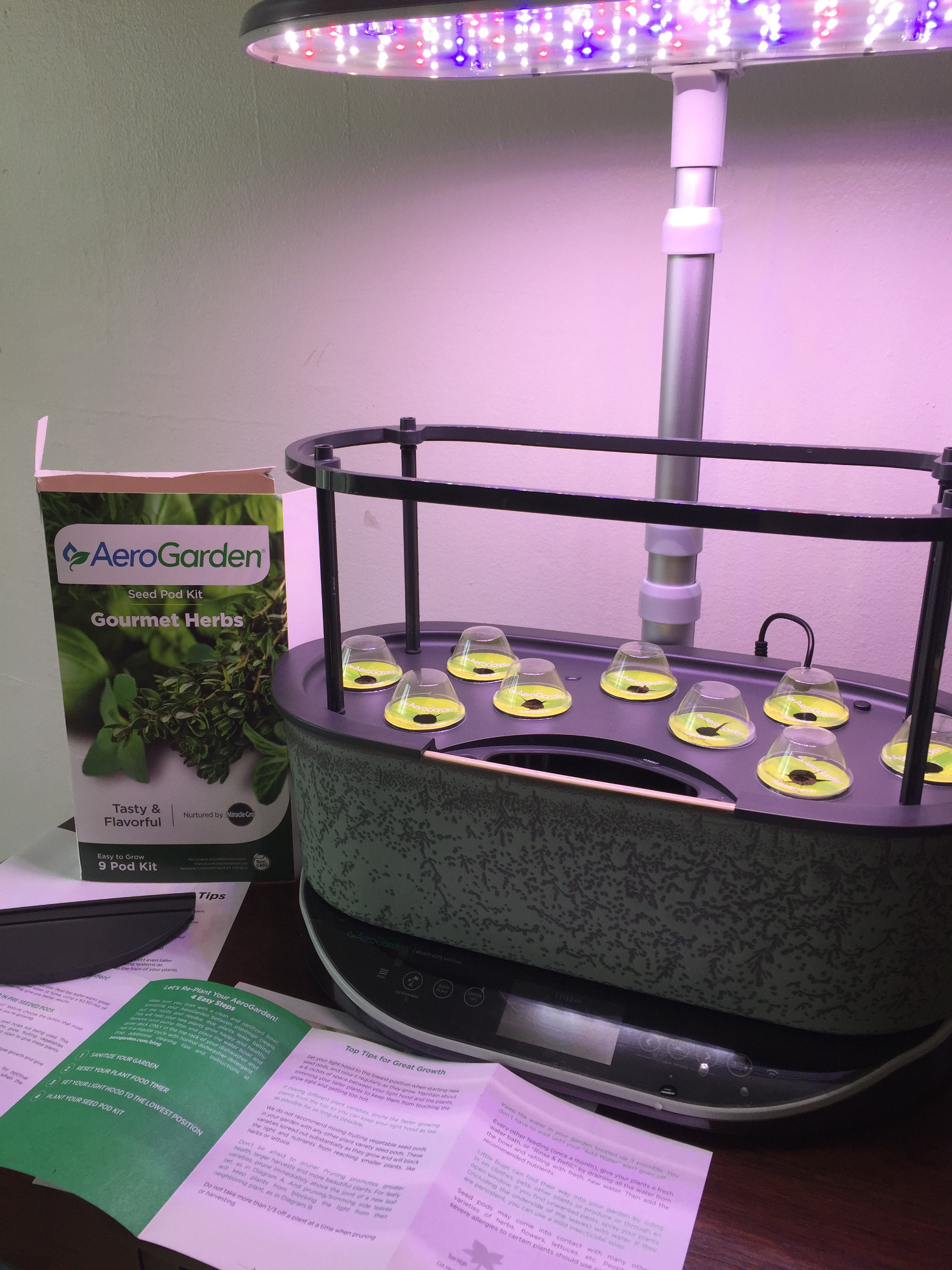 container garden ideas aerogarden bounty elite artisan those someday goals