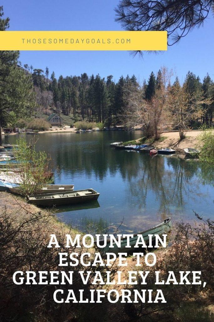 Mountain cabin rentals california green valley lake big bear those someday goals