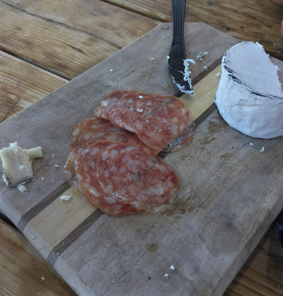 Goat cheese, salami, grocery snacks, Wine flights, wine tasting by the sea, hearst ranch winery, sebastian's, central coast, road trip, those someday goals