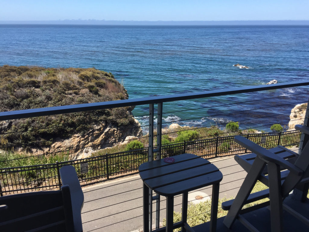 Balcony View, dog-friendly hotel rooms, pet-friendly, Inn at the Cove, Pismo Beach, California, Road Trip, Those Someday Goals