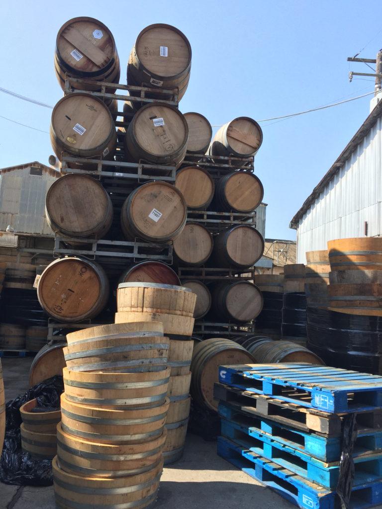 Quality Wine Barrels, large outdoor planters, garden planters, half barrels, Santa Maria, Those Someday Goals