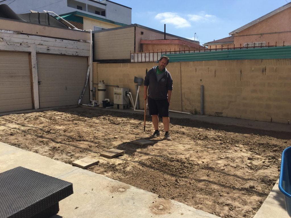 Yard leveling, Backyard ideas, design ideas, backyard landscaping, urban backyard ideas, those someday goals