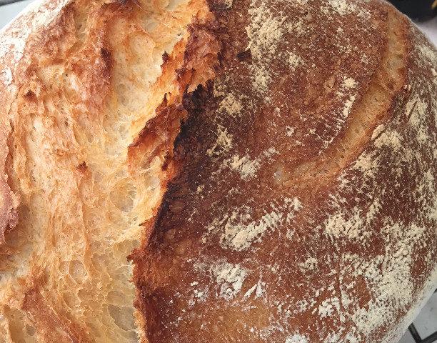 No-Knead Bread, King Arthur All-Purpose Flour